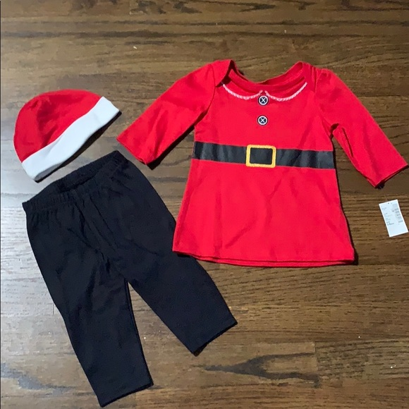 The Children's Place Other - The Children's Place Santa Outfit
